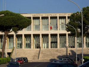 Roma – Archivio centrale dello Stato – Interventi di messa in sicurezza antincendio