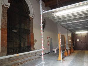 Ferrara – Archivio di Stato – Interventi di messa in sicurezza antincendio