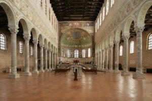Ravenna – Basilica di S. Apollinare in Classe – Interventi di messa in sicurezza antincendio