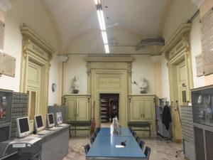 Modena – Biblioteca Estense Universitaria – Interventi di messa in sicurezza antincendio