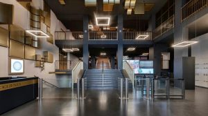 Torino – Biblioteca Nazionale Universitaria – Interventi di messa in sicurezza antincendio