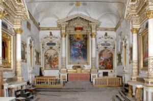 Siena – Chiesa di S. Maria degli Angeli – Interventi di messa in sicurezza antincendio