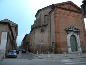 Ferrara – Sant'Apollonia – Lavori di restauro