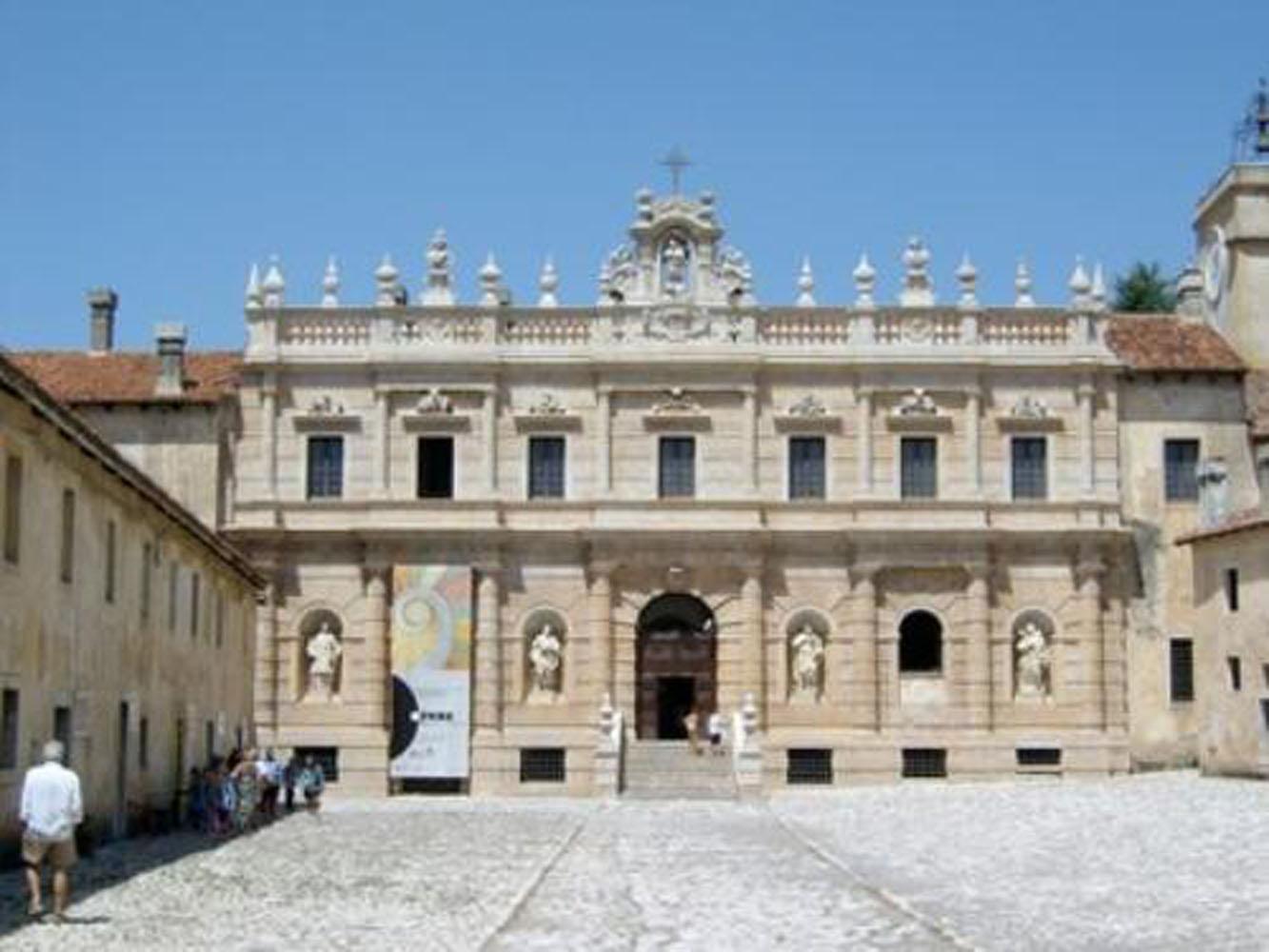 Padula – Certosa di San Lorenzo – Restauro – La Certosa di San Lorenzo in Padula: interventi di restauro e di fruizione innovativa per la valorizzazione del sito UNESCO e per uno sviluppo sostenibile del territorio di riferimento