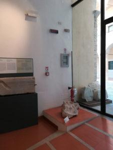 Spoleto – Museo Archeologico – Interventi di messa in sicurezza antincendio