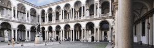 Milano – Pinacoteca di Brera – Aree esterne – Pinacoteca di Brera – Interventi di sistemazione aree esterne