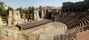 Benevento – Teatro romano – Interventi di messa in sicurezza antincendio