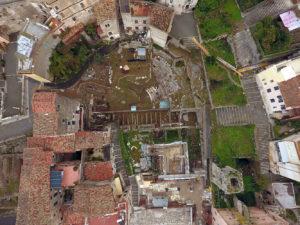 Terracina – Teatro romano – Restauro e valorizzazione teatro romano