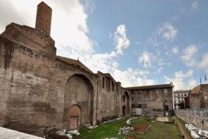 Roma – Terme di Diocleziano – Realizzazione del collegamento sotterraneo Planetario – Terme di Diocleziano