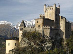 Valle d'Aosta – Castello di Saint Pierre – Castello di Saint Pierre