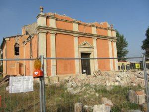 Cavezzo – San Giovanni di Disvetro – Lavori di restauro