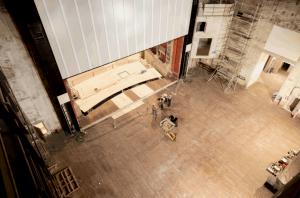 Bergamo – Teatro Comunale – Lavori di restauro